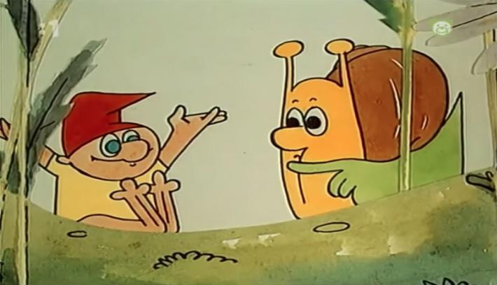Slovak TV Bedtime Stories / Maťo the Snail and Klinček the Gnome: Episodes 1-4