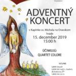 Plagát k podujatiu Adventný Koncert