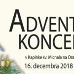 hrad adventný koncert 2018 banner