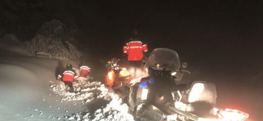 Tri hodiny trvala cesta záchranárom ku Goralskej drevenici na Sedle Beskyd v Oravskej Lesnej