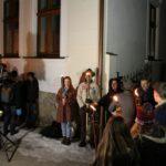 hviezdoslavov lampionovy sprievod pred domom hviezdoslava