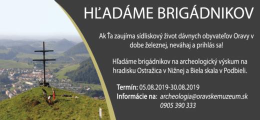 Hľadáme brigádnikov na archeologický výskum