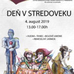plagát k podujatiu den v stredoveku 2019