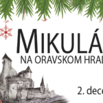 hrad mikuláš na oravskom hrade 2018 banner