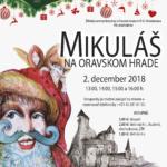 hrad mikuláš na oravskom hrade 2018 plagát