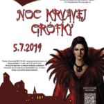plagát podujatia noc krvavej grófky 2019