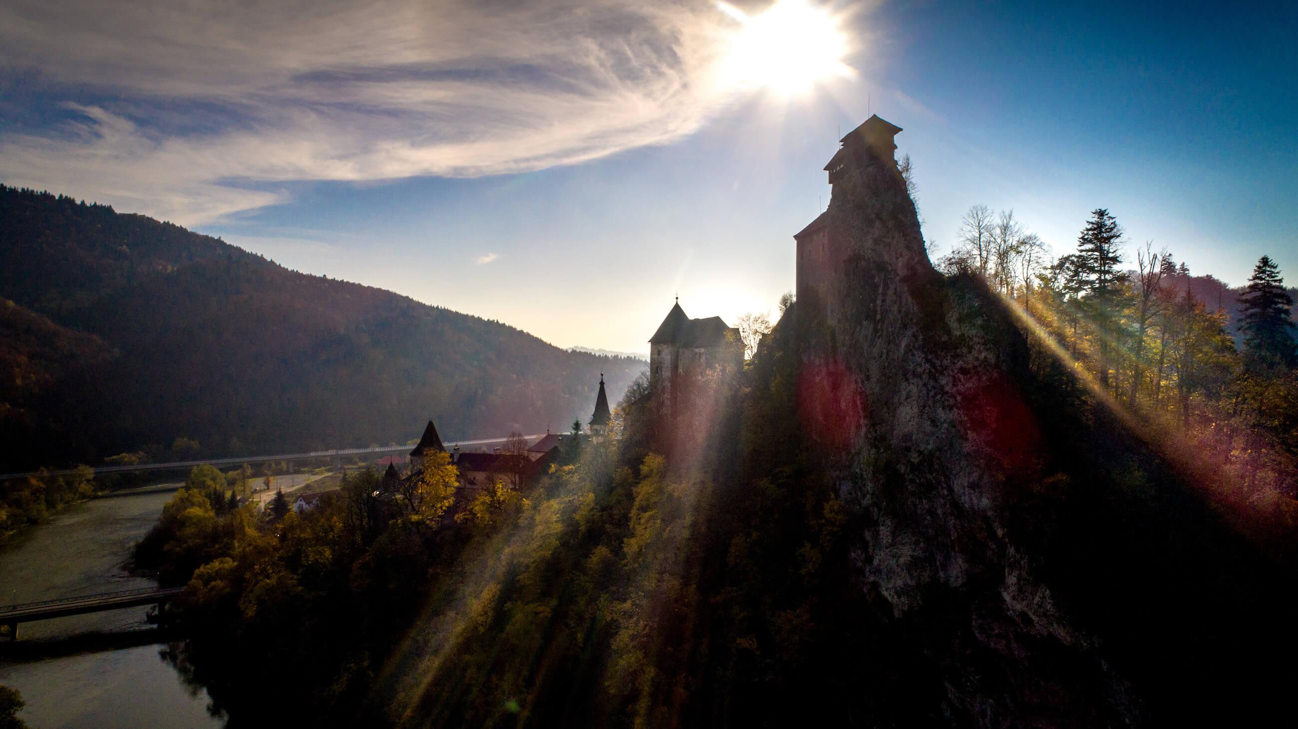 Oravský hrad, autor: M.Pišný
