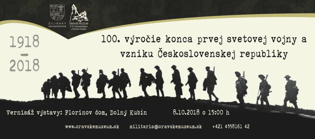 100 vyročie konca prvej svetovej vojny pozvánka