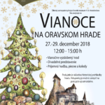 vianoce na oravskom hrade 2018 plagat